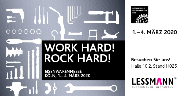 International Hardware Fair in Cologne – We`ll be there! You too?